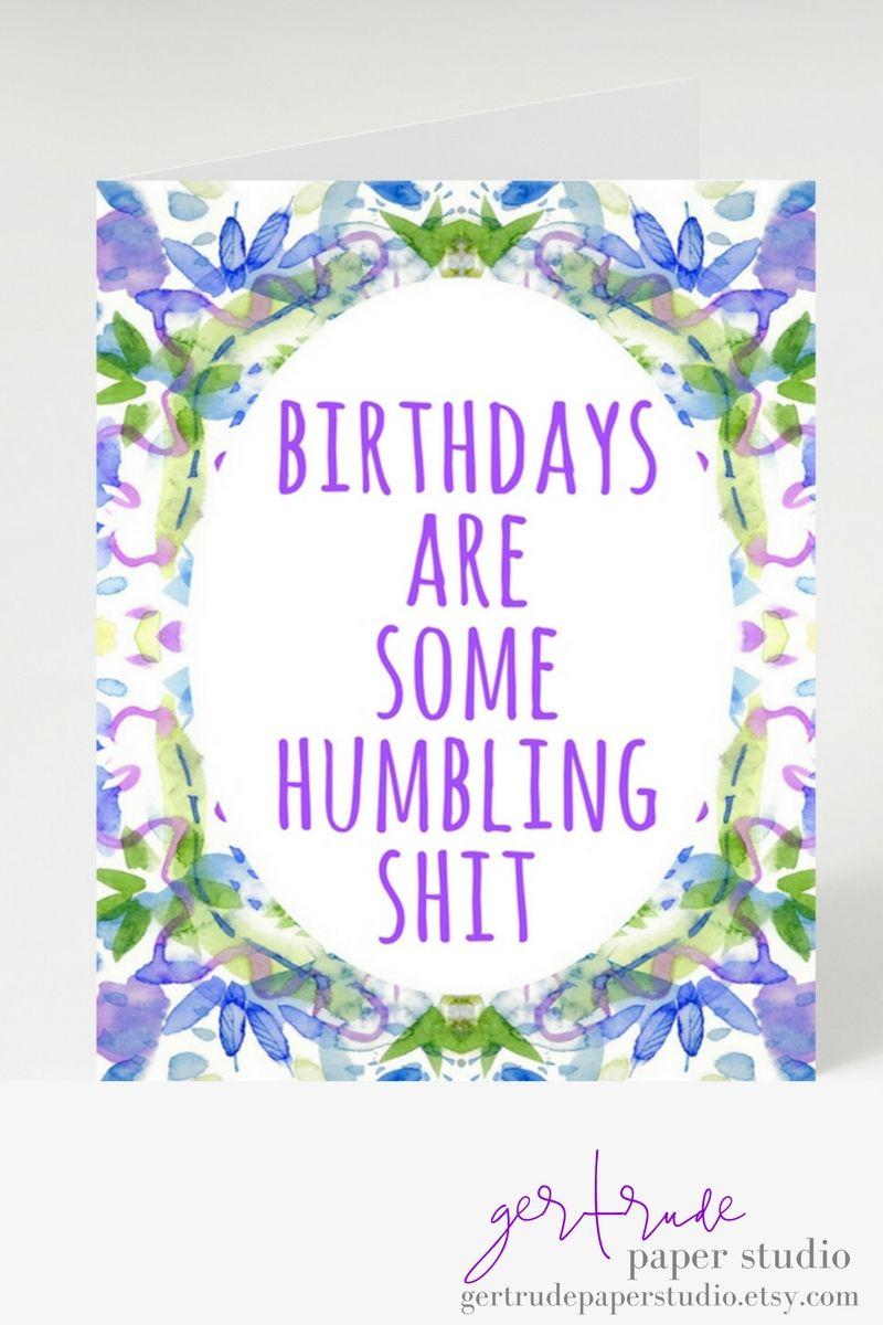 funny birthday card 40th birthday card 30th birthday card