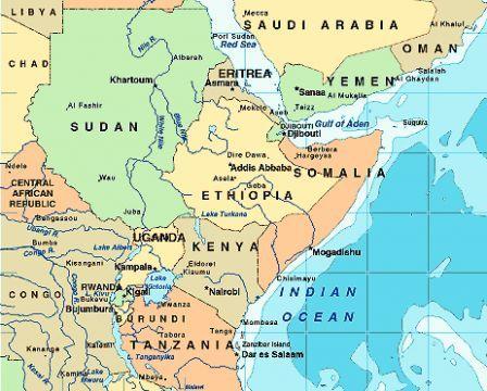 Resultat De Recherche D Images Pour Carte Corne De L Afrique