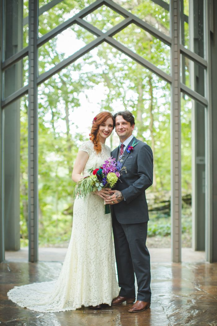 Lenzi And Chris 52 Guest Thorncrown Chapel Wedding In The Ozark Mountains Shawn Marie