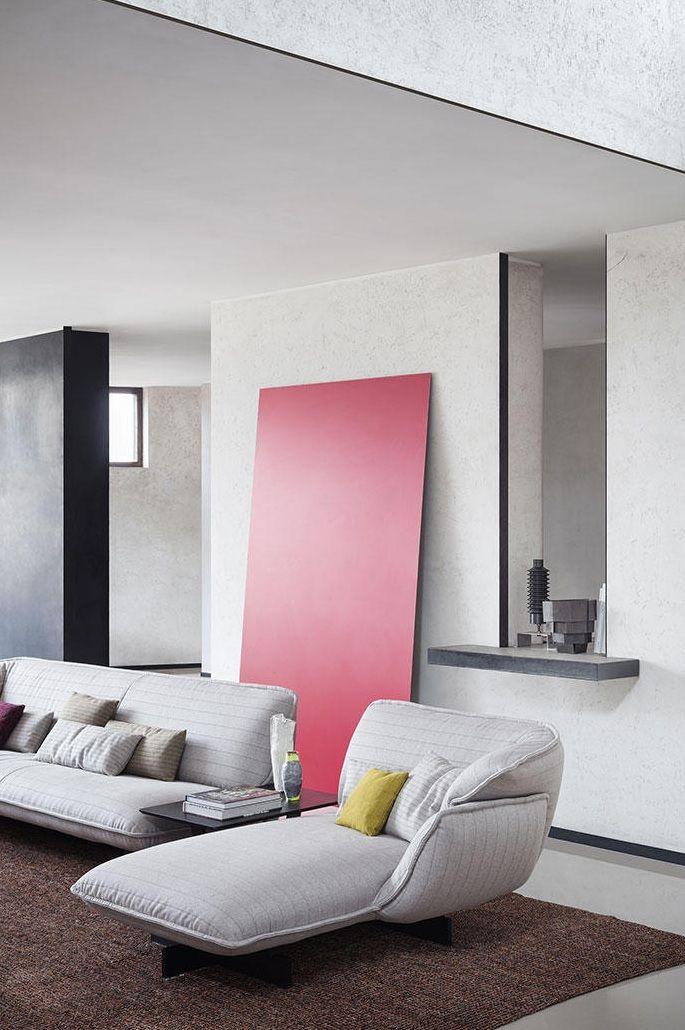 The 550 Beam Sofa System from Cassina and designer Patricia Urquiola ...