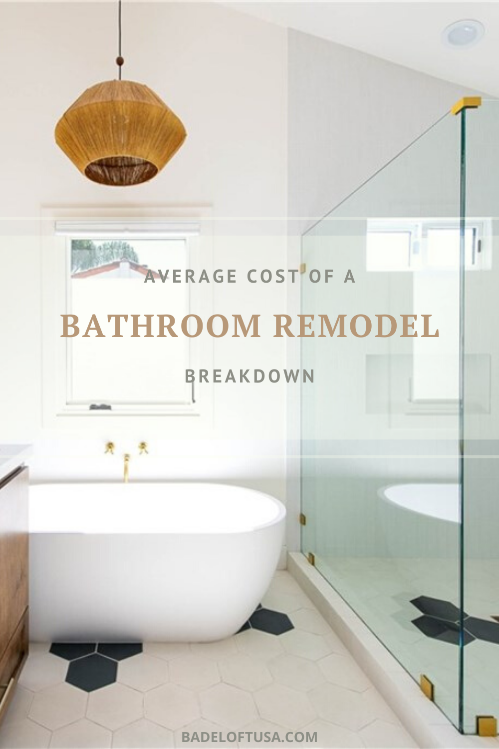 Average Cost To Remodel A Bathroom In 2019 Bathroom Large