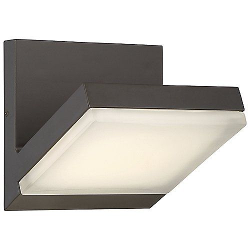 low profile wall sconce electric wall wall george kovacs angle outdoor led wall sconce will bring dimension to exterior spaces with square metal structure and lowprofile light source lighting pinterest