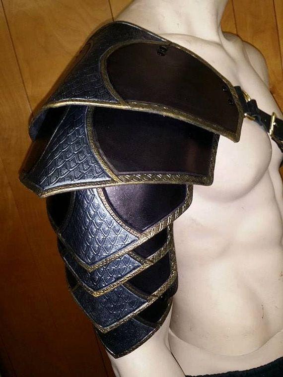 Leather Armor Segmented shoulders xB8MYooLVE