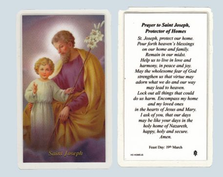 Prayer to st joseph to sell a house