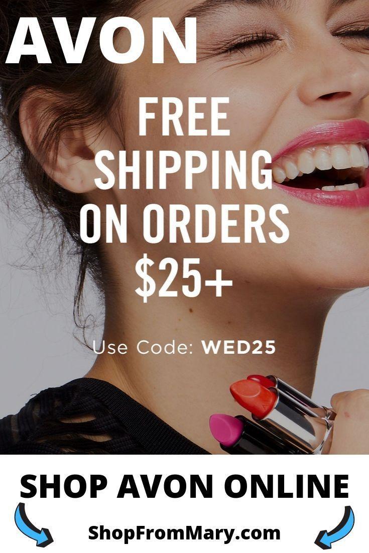 Avon Free Shipping on 25 October 2019 Avon online, Avon