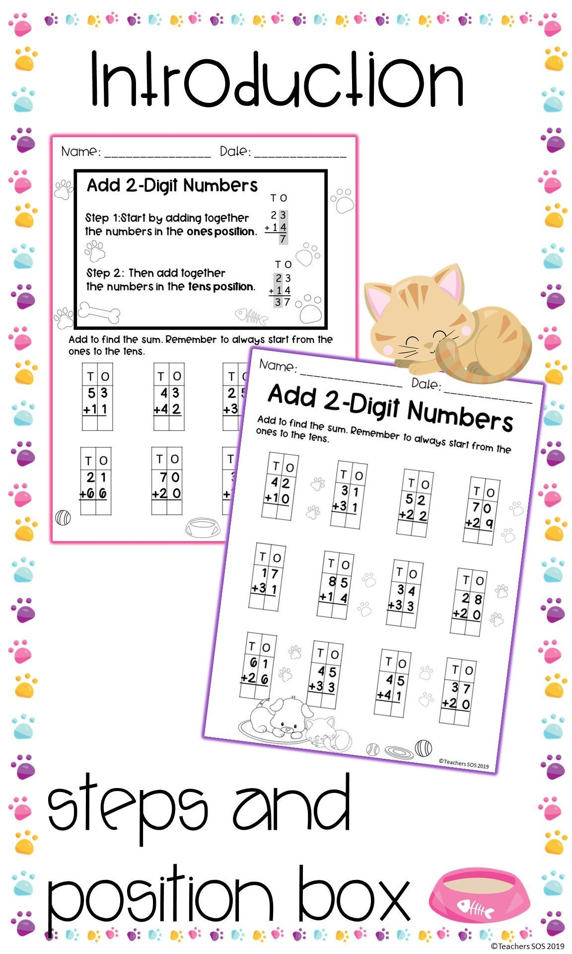 Adding Two Digit Numbers No Regrouping Worksheets Distance Learning In 2020 Regrouping Guided Practice Practices Worksheets Adding two digit numbers worksheets