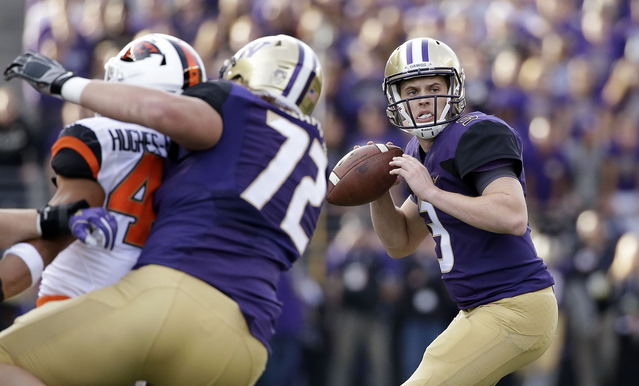 3 Out Takeaways As No 5 Washington Huskies Bury Beavers