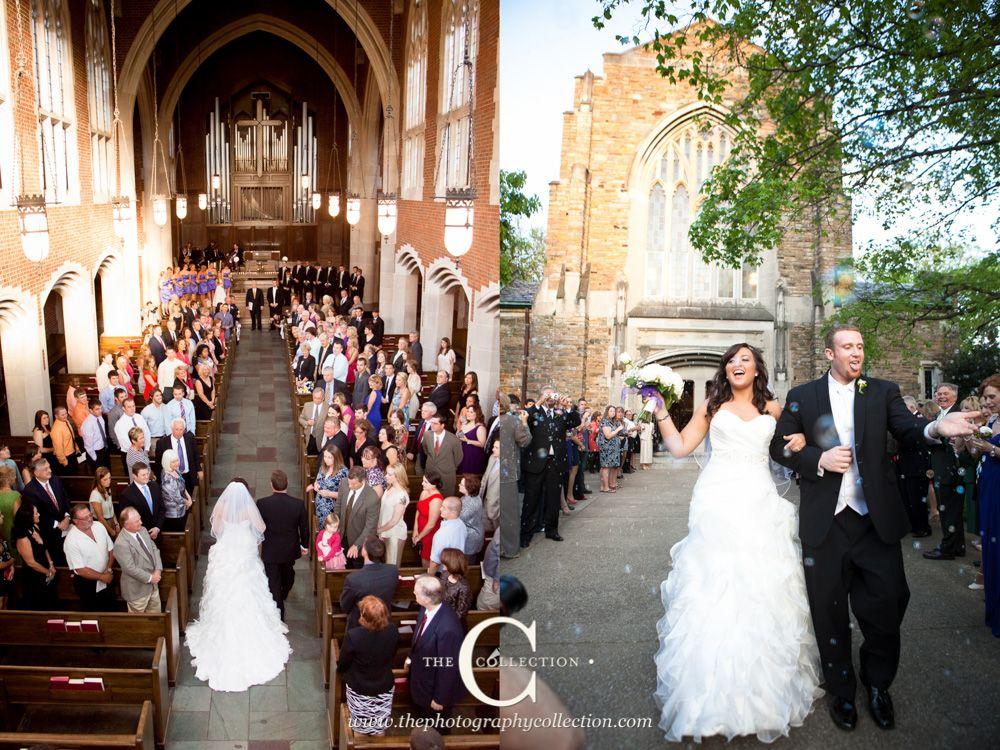 Bubble Exit From Scarritt Bennett Wightman Chapel Wedding In