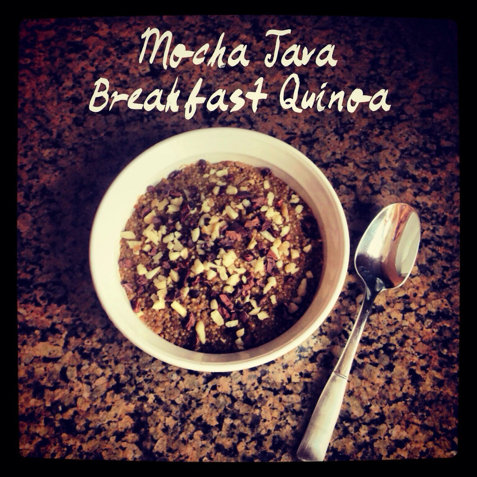 I posted this to my Instagram earlier but I figured there was no harm writing it up quick for the blog too! Here are the ingredients/directions: -1 cup uncooked quinoa -1 cup fresh brewed coffee -1...