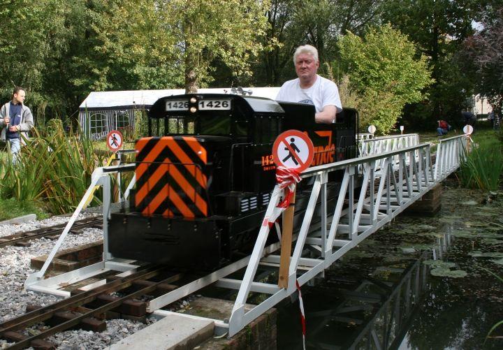 They can get big. | Ride on train, Model railroad, Backyard