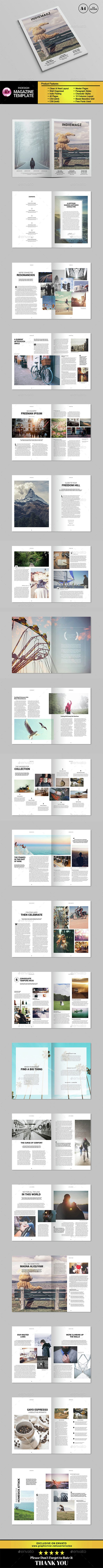 Indie Feeling Magazine | Indie, Magazines and Template