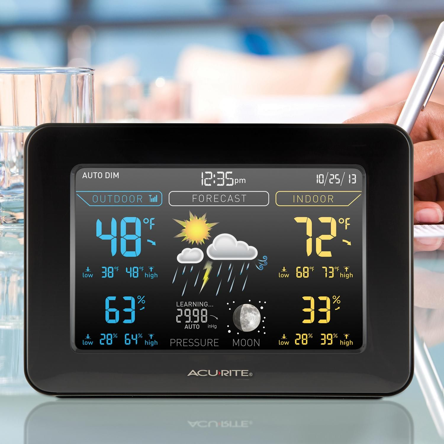 AcuRite 02027 Color Weather Station With Forecast/Temperature/Humidity