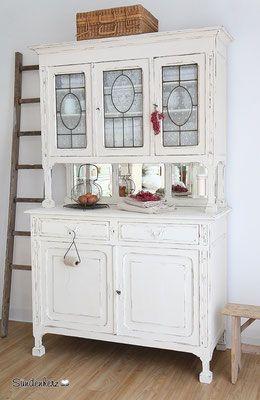 pin von johanna dudemhausen auf einrichtung kitchen dresser vintage kitchen und dresser