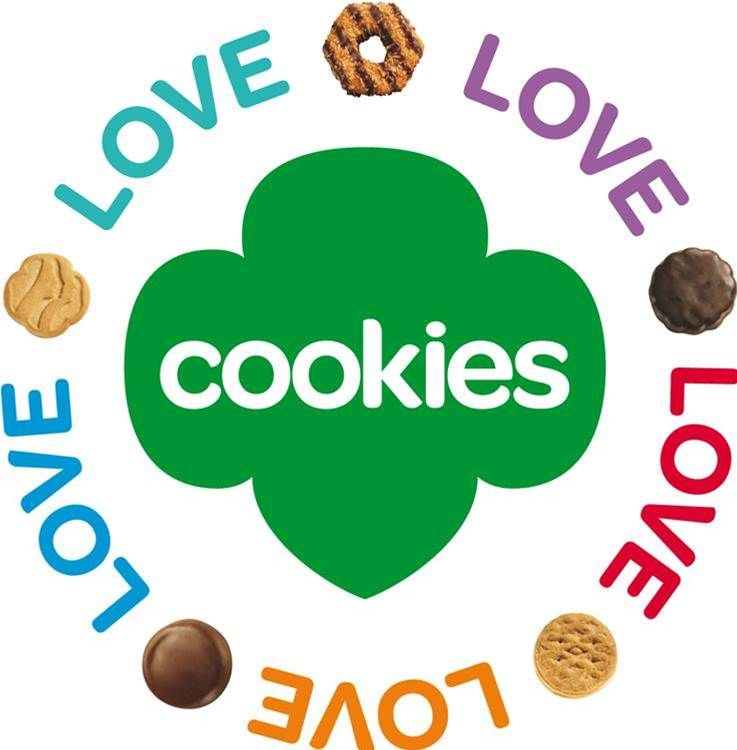 image result for free printable girl scout cookie booth decorations rh pinterest com free girl scout clip art images girl scout bridging clipart free
