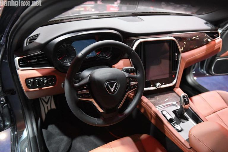 đanh Gia Xe Vinfast Lux A2 0 Mẫu Sedan Hạng C Nặng Ki Của