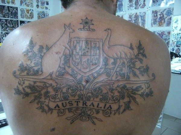 Coat Of Arms Australia And Coats On Pinterest Arm Tattoos Black