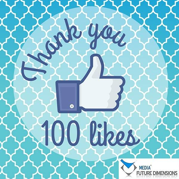 Likes Quotes On Facebook: We Have Reached 100 Likes! Thank You All For Your Support
