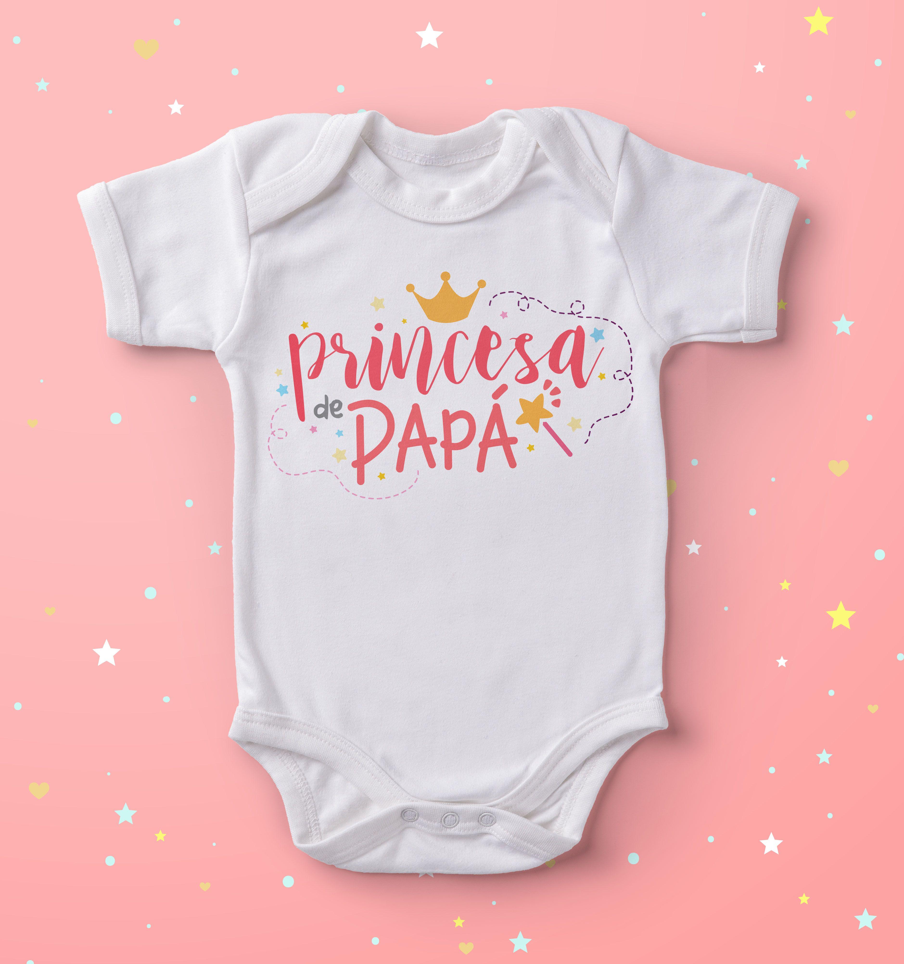 Body original para la princesa de papá.  bebes  babys  niños  maternidade 1d52a297d34