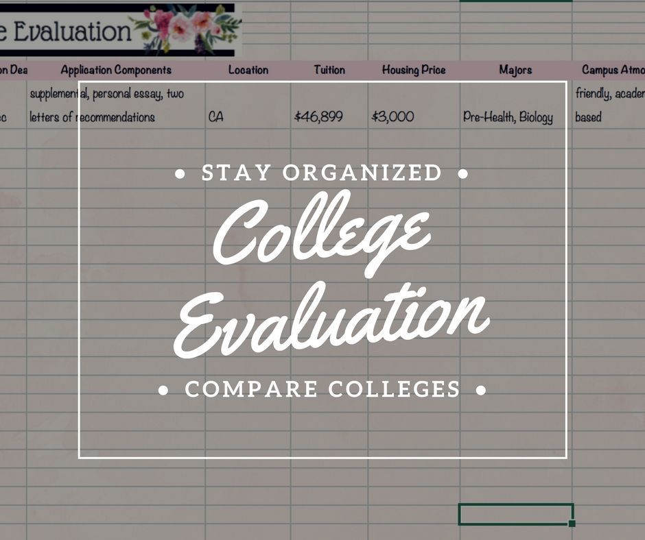 compare two colleges