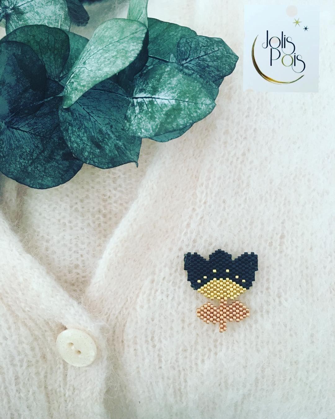 Pin de Anne Pinsard en Tissage brick stitch | Pinterest | Punto ...