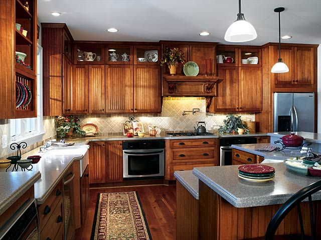 kitchen design | ... Design Pictures Images Photos Gallery | Luxurious Kitchen Designs