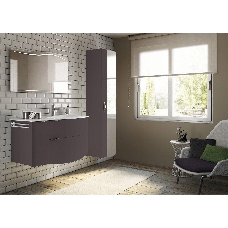 Meuble de salle de bains, Elegance  Salle de bains beige et blanc