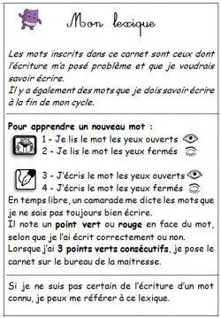 Cartable Ouvert Je Lis J'écris : cartable, ouvert, j'écris, Répertoire,, Dictionnaire, Lexique, Orthographe,, Lexique,, Carnet