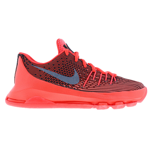 Nike KD VIII - Men's Durant, Kevin | Bright Crimson/White/Black |