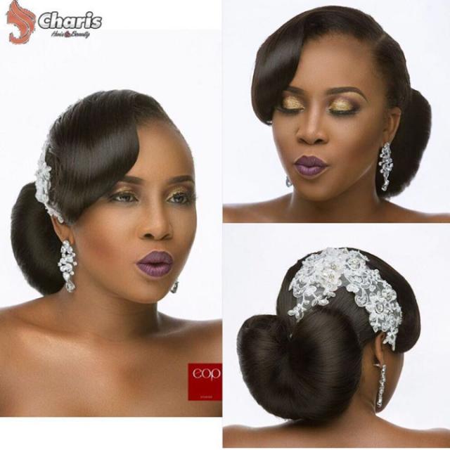 16 Stunning Hairstyles For Nigerian Brides