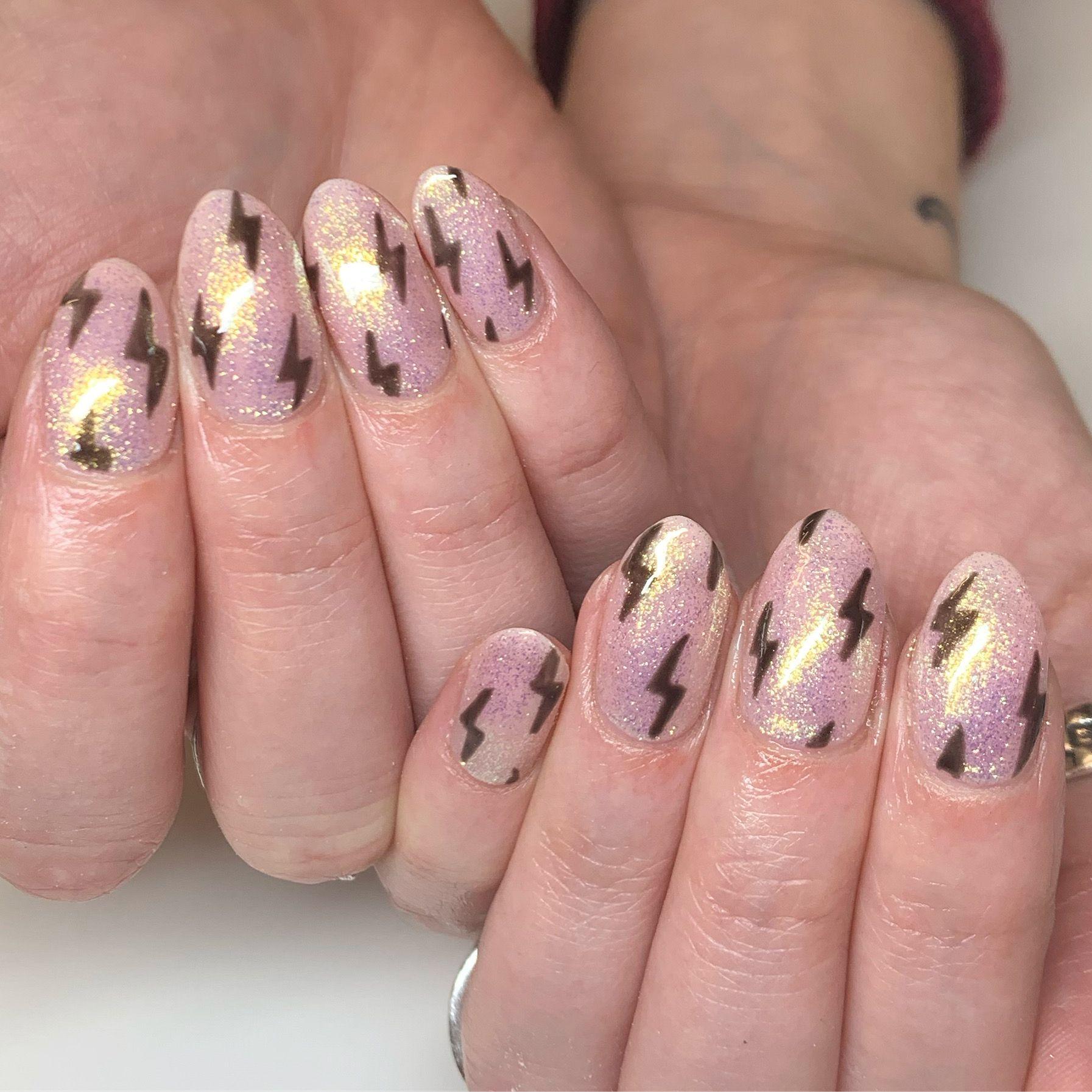 Nail Art Design Ideas To Give You Amazing Fall This Year Lavender Nails Cute Acrylic Nails Nail Shapes