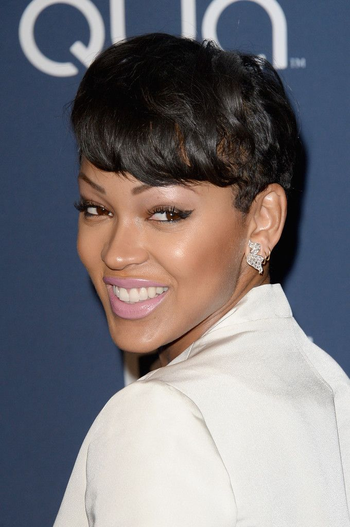 Superb 1000 Images About Meagan Good On Pinterest The Game Haircut Short Hairstyles For Black Women Fulllsitofus