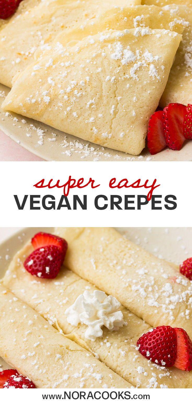 Easy Vegan Crepes