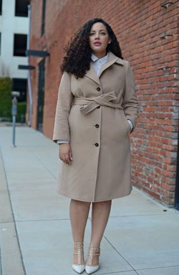 Мода осень-зима 2020-2021 для полных женщин: тренды одежды ...