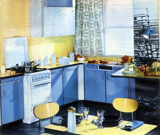 Cuisine En Celamine Concurrent Du Formica De 1960 Cuisine Formica Table Et Chaises Cuisine Vintage