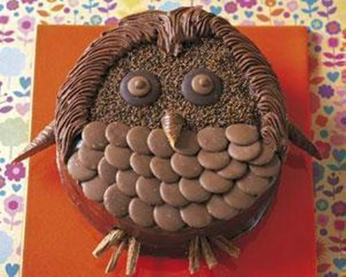 Creative Chocolate Button Cakes DIY Ideas Button cake Chocolate