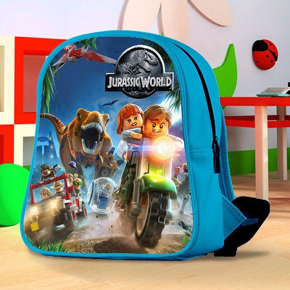 Lego Jurassic World by SARASAGE2 on Etsy | Bag | Lego