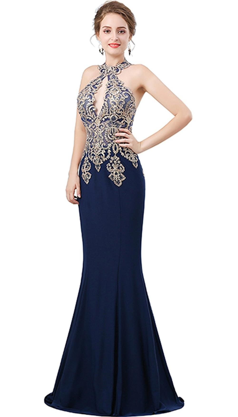 Heartgown womens prom dresses sexy mermaid long lace embroidery high