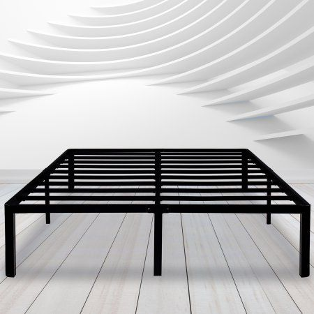 Granrest 14 Round Corner Edge Durable Steel Bed Frame With Non