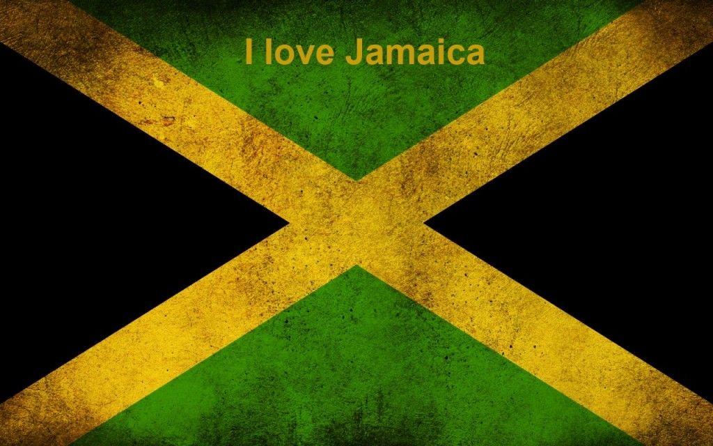 I Love Jamaica Wallpaper Jamaica Flag Jamaican Flag Jamaica Reggae