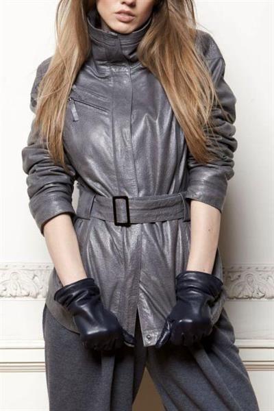Женский пиджак кожа