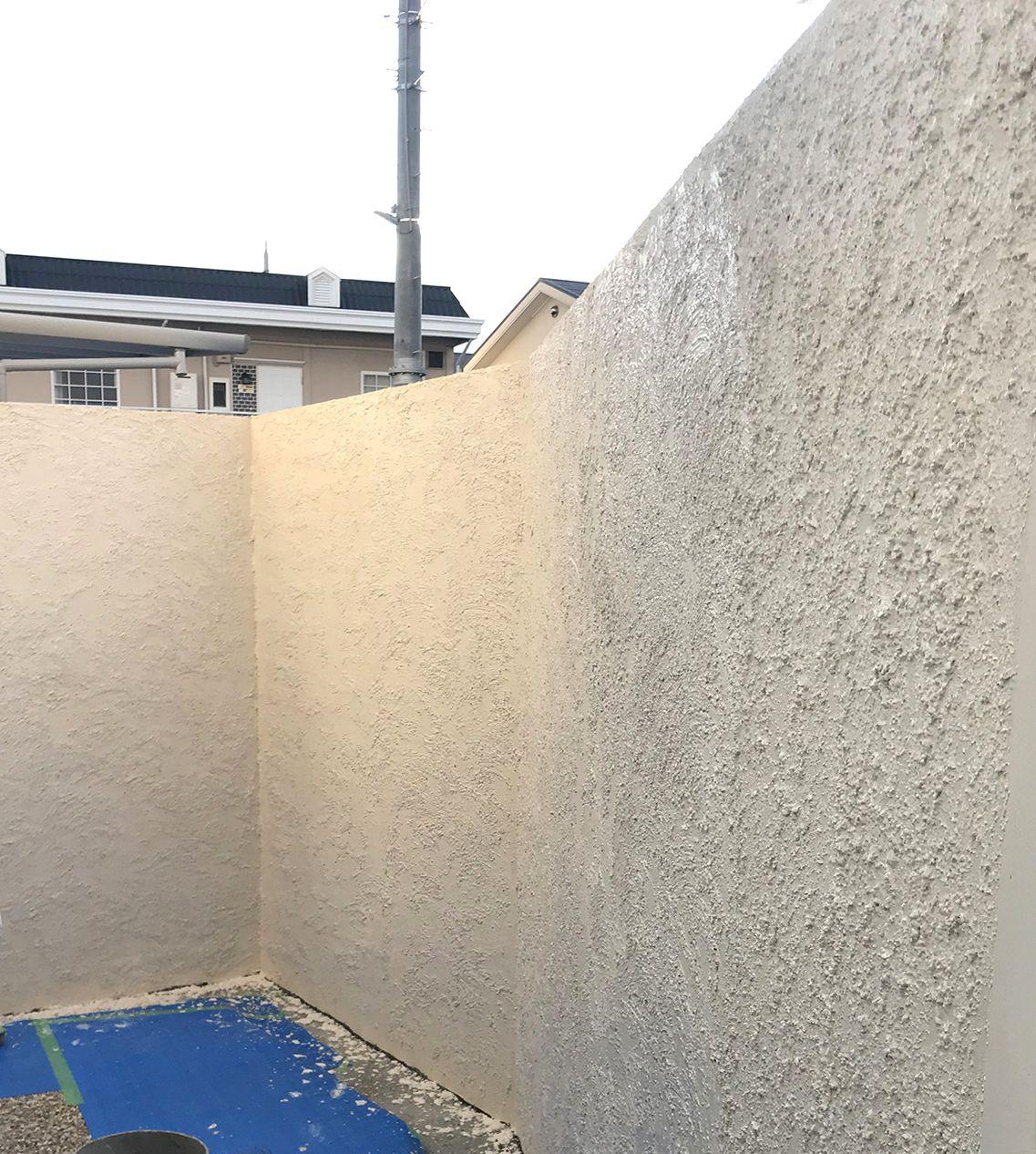 グランドアートウォール 塀の高さ2 2m 擁壁 ブロック塀 家 外観