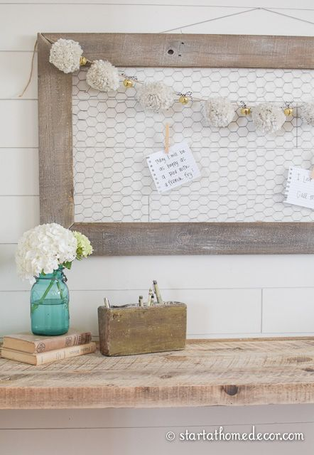 How To Create Weathered Wood In Hours Chicken Wire Frame