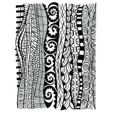 Stamptangle Pattern Background