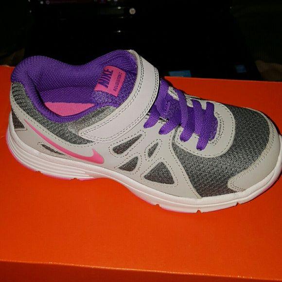 Nike revolution Boutique. My DaughterDaughtersNike ShoesShoes  SneakersRevolutionsPink PurpleGirlsBrand New