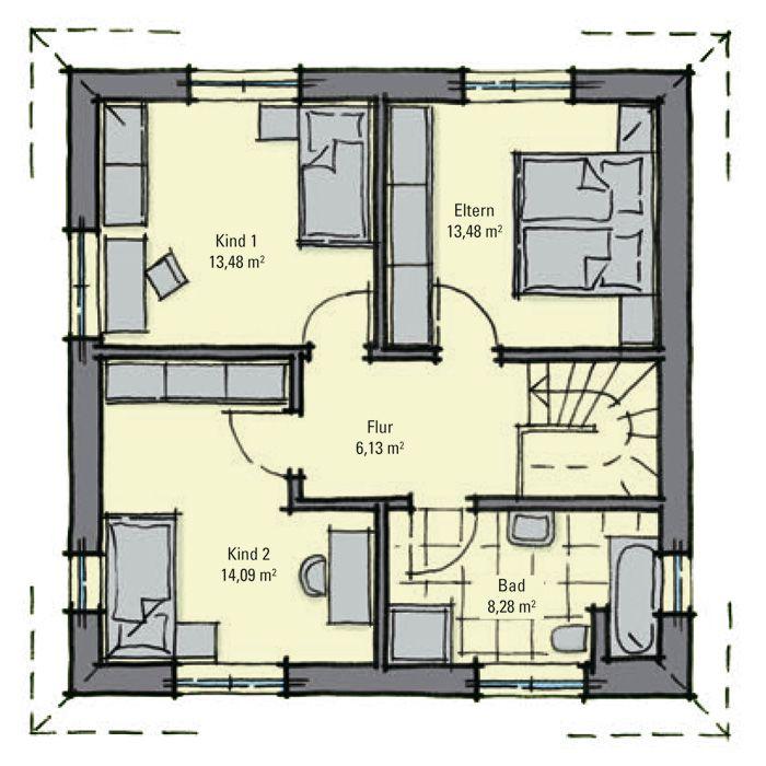 stadthaus kensington dachgeschoss kleingartenhaus. Black Bedroom Furniture Sets. Home Design Ideas