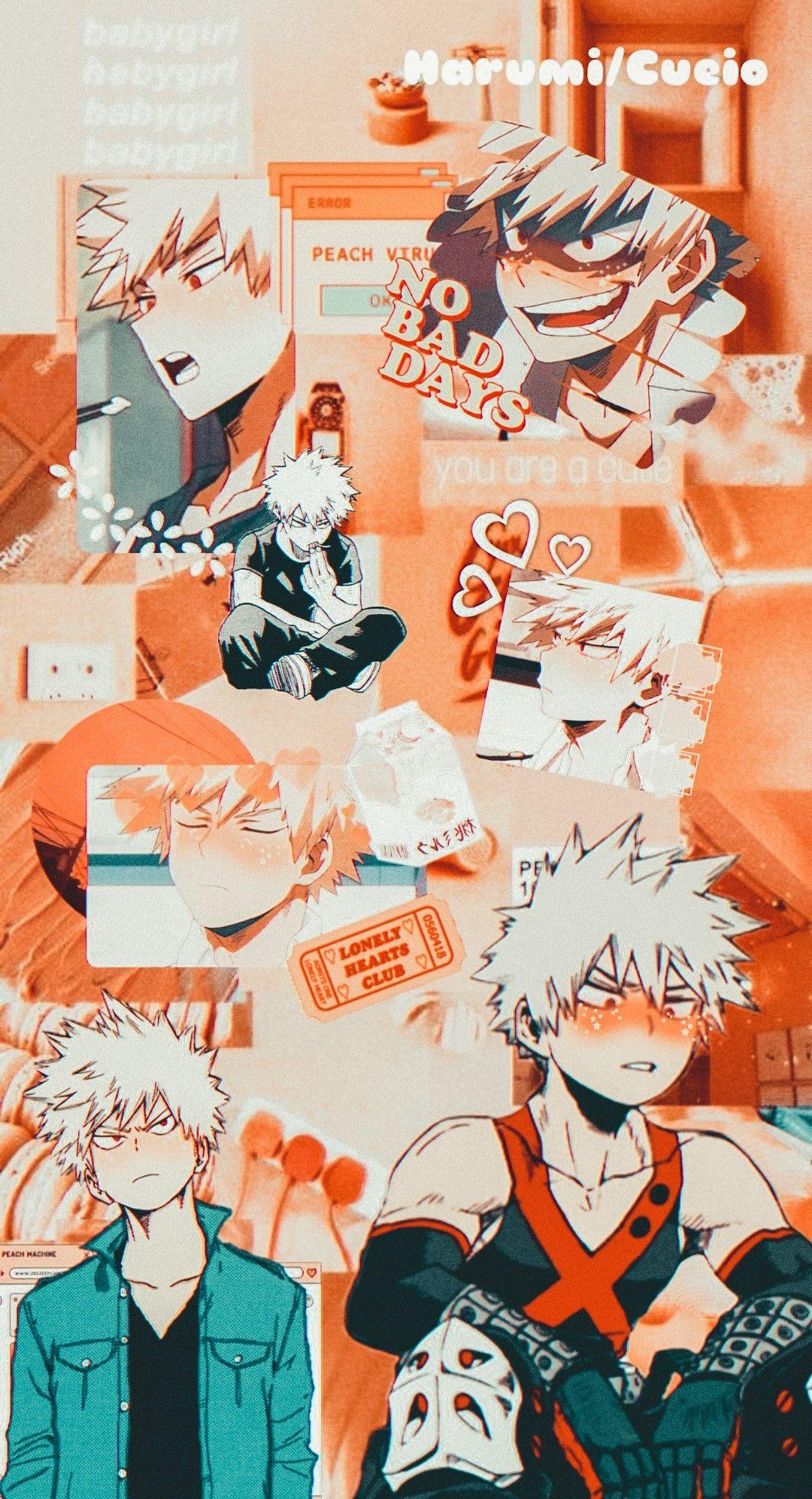 Bakugou Katsuki Wallpaper [Boku No Hero] Aesthetic
