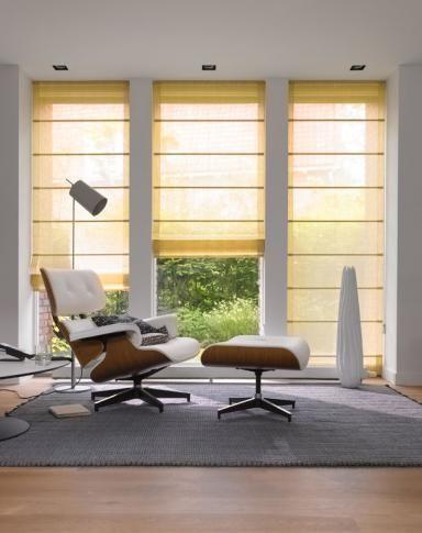 Das Rollo \u2013 schöne Modelle Raffrollo von Teba Window - Raffrollo Für Wohnzimmer