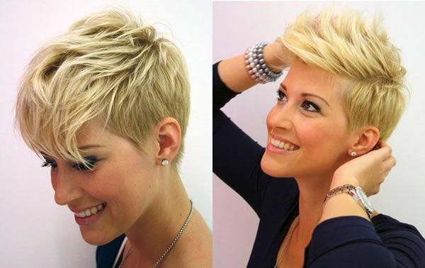Taglio corto di capelli donna