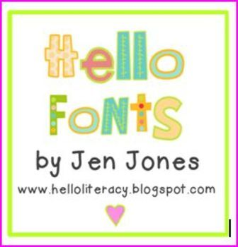Hello Fonts - Personal & Non-Commercial Use   Classroom