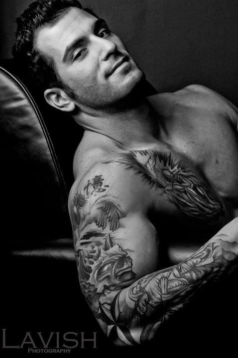 Love men with tats!!!! One question??? How come their hottt, but when it's a girl, we are considered unacceptable???? IJS...